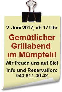 Grillabend 2017